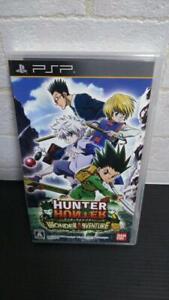 PSP Hunter x Hunter wonder adventure PlayStation Portable Japan Import