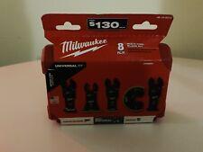 milwaukee multi tool blade kit 8-piece