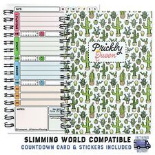 Diet Food Diary Slimming World Compatible Planner Tracker Log Weight Loss, 58V