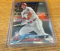 2018 Topps Chrome Refractor MIKE TROUT Los Angeles Angels