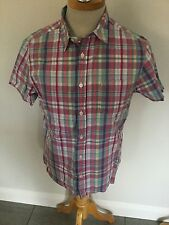 White Stuff Mens Check Shirt Sleeve Shirt Size S. Great Condition.