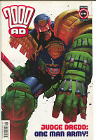 2000AD 2000 AD Prog 1258 September 5 2001 VF Judge Dredd Durham Red Jock