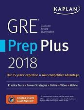 GRE PREMIER 2018 + ONLINE + VIDEOS + MOBILE - KAPLAN TEST PREP (COR) - NEW PAPER