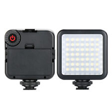 Video Light LED Dimmable Digital Camera w/ cold shoe Photographic Night Fill led