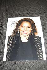 "Phylicia Rashad signed autografo su immagine 20x28cm ""The Cosby show"" inperson look"