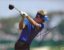 Luke Donald Pga Golf Signed 8X10 Photo