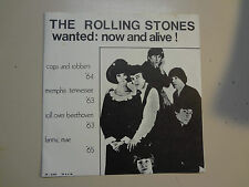 "ROLLING STONES:Wanted: Now And Alive!-Euro. 7"" Rock Star EP 4 Tracks 63-65 PSL"