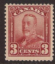 Canada #151 FVF MNH - 1928 3c King George V - Scroll