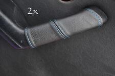 FITS MAZDA MIATA MX5 MK1 2X DOOR HANDLE COVERS blue stitch