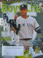 DEREK JETER - NEW YORK YANKEES  April 2009 BOY'S LIFE Magazine