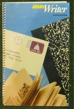ATARI WRITER OWNERS MANUAL/BOOK 800/XL/XE NEW OLD STOCK