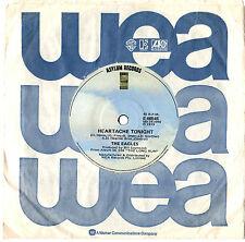 "EAGLES - HEARTACHE TONIGHT - OZ 7"" 45 VINYL RECORD 1979"