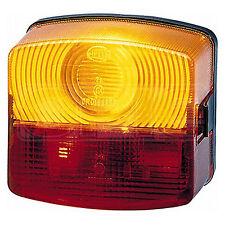 Combinaison feu arrière: queue clignotant lampe côté gauche | hella 2SD 003 182-051