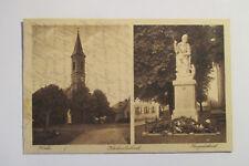 Ansichtskarte Kirchenlaibach Kirche Kriegerdenkmal 1925