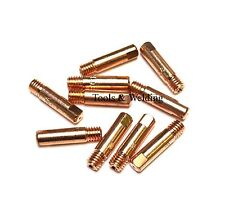 SWP MIG WELDING TIP 0.6MM x 6mm THREAD MB15 EURO TORCH (150AMP RATED) x 10