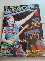 Hurricane Nr 1/ zweiter Jahrgang Rock Hard Metal Hammer Fanzine Magazine Crash