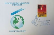 L) 1997 DOMINICAN REPUBLIC, COMETA HALE BOPP, 5C, WORLD, PALM, ARCHITECTURE, SPA