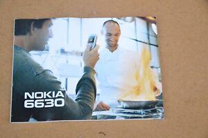 NOKIA 6630 User Manual.