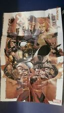 """X-men #9 2020 Marvel Comics Rare Folded Promo Poster 36""""x24""""!"""