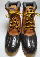 Men's Rugged Outback Thinsulate Duck Hunting Waterproof Boots SteelShank Size 11