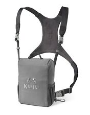 Kuiu Hunting Camo Bino Harness Binocular Chest Shoulder Stone Grey Large L