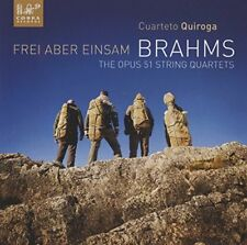 Cuarteto Quiroga - Brahms: String Quartets op. 51 / Frei aber einsam [CD]