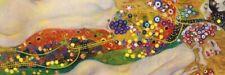 Gustav Klimt - Wasserschlangen Erotik Poster Kunstdruck Bild (158x53cm) #60898
