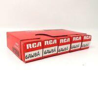Vintage RCA Electron Tubes - (5) 6AW8A Tubes - NOS in boxes    MCM007