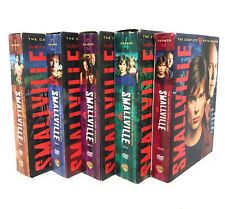 Smallville DVD Seasons 1-5 Excellent Condition with DVD guides included