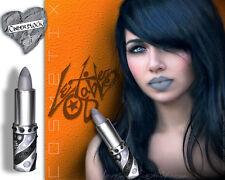 Lex Gable Cosmetix Matte GREY Lipstick :: Shade: 'CINDER BLOCK'