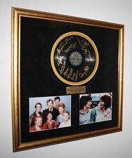 Signed HAPPY DAYS, ERIN MORAN, LAVERNE & SHIRLEY Autograph Frame, COA, UACC, DVD