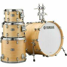 """Yamaha Tour Custom 4pc Drum Set Shell Pack w/20"""" Bass, Butterscotsch Natural New"""