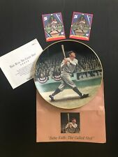 """Babe Ruth """"The Called Shot"""" Delphi Legends of Baseball 8"""" Plate 1992"""
