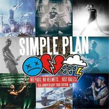 SIMPLE PLAN NO PADS,NO HELMETS JUST BALLS 15th Anniversary Tour Edition CD NEW