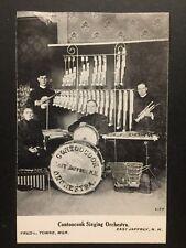 Antique POSTCARD c1910-30 Contoocook Singing Orchestra EAST JAFFREY, NH (20586)