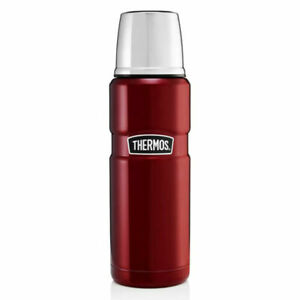 Thermos Stainless Steel Double Wall King Flask 470ml Red
