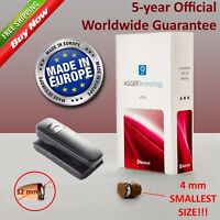 40% SALE Bluetooth Invisible VIP Spy Earpiece for Students AGGER NanoBox Ultra