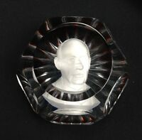 Adlai E. Stevenson Baccarat Paperweight Sulphide Crystal Limited Edition of 350