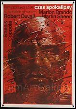 APOCALYPSE NOW Polish poster linen-backed Marlon Brando Coppola Film/Art Gallery