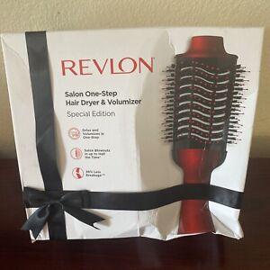 Revlon Salon One Step Hair Dryer & Volumizer Red