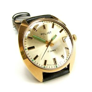 POLJOT vintage Russian watch from the 1970s | The Russian Beauty