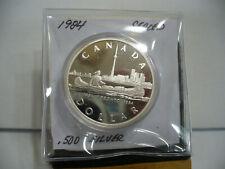 1984   CANADA  SILVER DOLLAR  COIN   1$    NICE  HIGH  GRADE   84   SEE PHOTOS