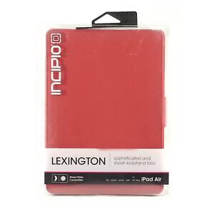 Incipio Lexington Durable Stylish Leather Kick Stand Folio Case for iPad Air