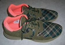 NIKE LUNAR FLOW WOVEN QS 526636 Mens Size 15 Olive Green Sneakers Lace Up Shoes