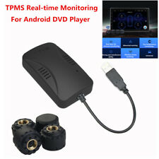 Universal TPMS Car Tire Pressure Monitoring Tyre Alarm Security System+4 Sensors
