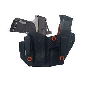 Fit SA HELLCAT RDP/OSP w/ TLR6 Light Mini RMR Cut Gun and Magazine Combo Holster
