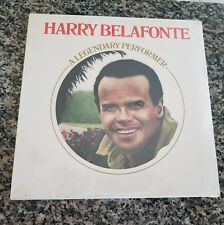 "Harry Belafonte ""A Legendary Performer"" LP"
