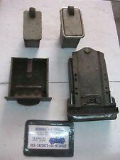 Vintage Saab two stroke , 3 Cylinder , Saab 95, 96, Sonett II , Ash Tray 4 Pcs