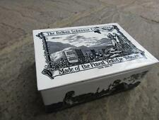 VICTORIAN Porcelein Advertising CIGARETTE BOX  c1890   THE BALKAN SOBRANIE