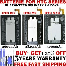 New Replacement Battery Fits For HTC ONE (M8 2600mAh) (M9 2840mAh) (M10 3000mAh)